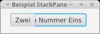 Anwendung mit StackPane-Layout